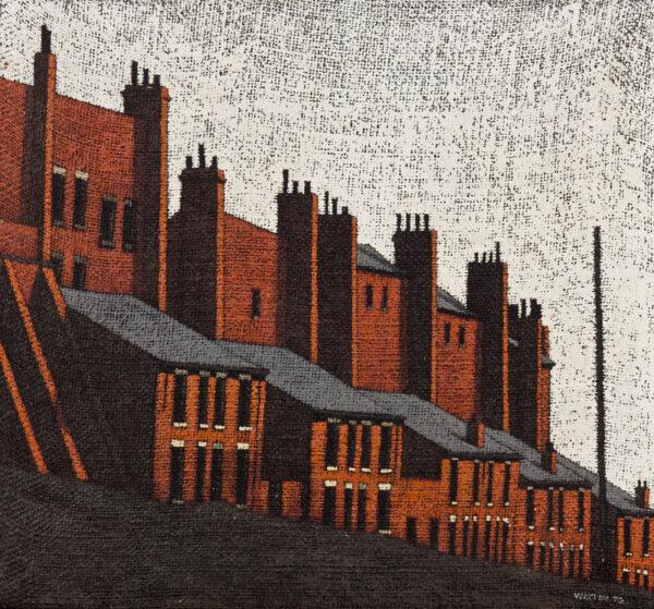 WALTON Stuart (b.1933) - 'Rosebank View', Leeds.