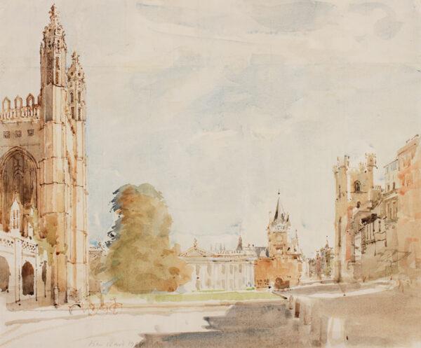 WARD John Stanton C.B.E. (1917-2007) - Cambridge: the Senate House.