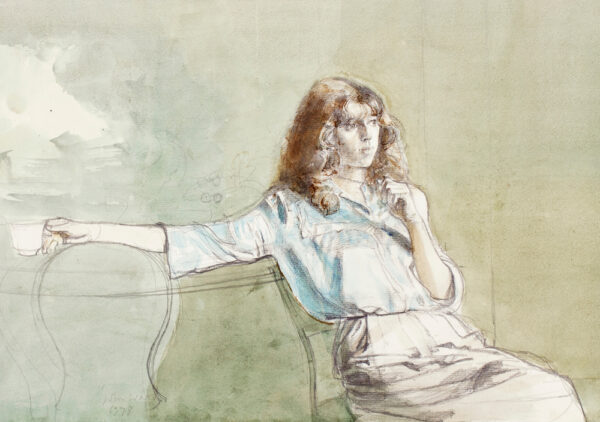 WARD John Stanton C.B.E. (1917-2007) - 'Stephanie'.