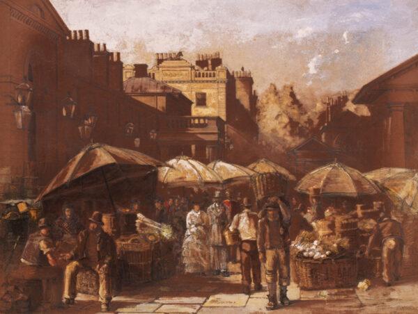 WATSON Charles John (1846-1927) - Covent Garden Market.