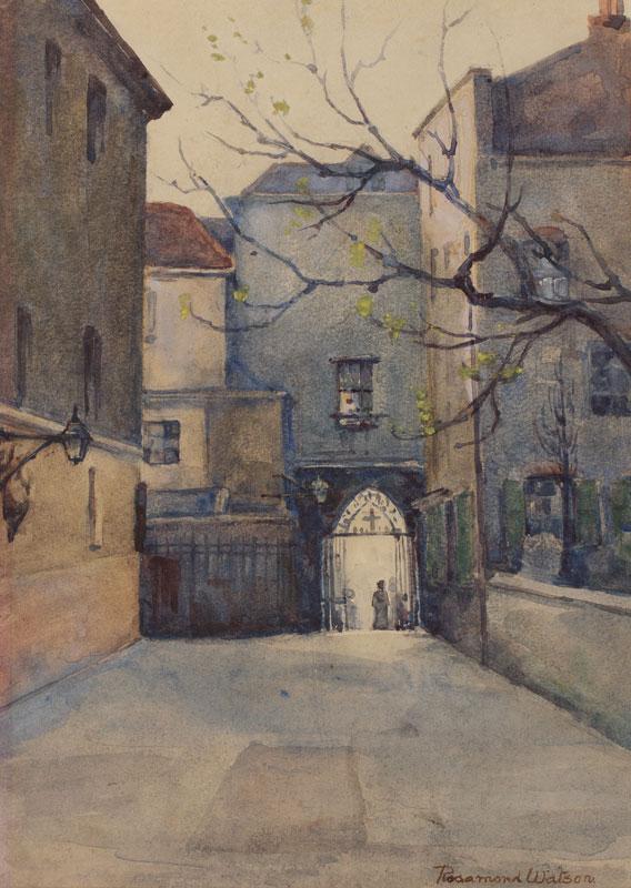 WATSON Rosmond (possibly Rosamund Marriott Watson, 1860-1911) - London.