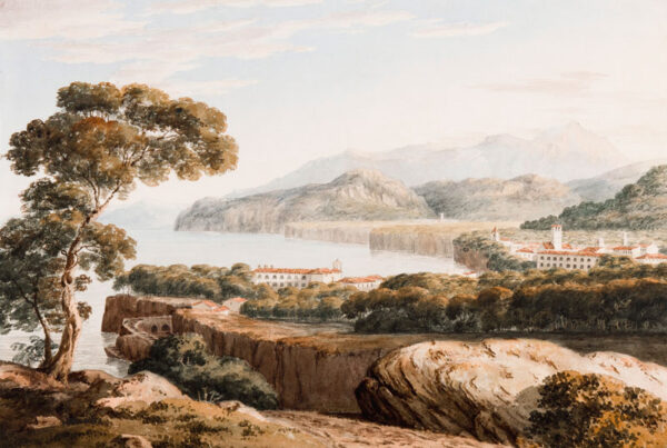 WEDGWOOD Charlotte (Mrs Charles Langton) (1797-1862) - Italy.