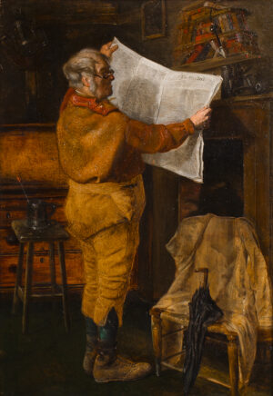 WEEKES William (1856-1909) - 'Wanted: A Young Man'.