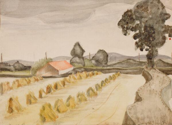 WELCH Denton (1915-1948) - 'Bircham, August 5th'.
