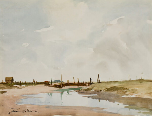 WESSON Edward (1910-1983) - Norfolk.
