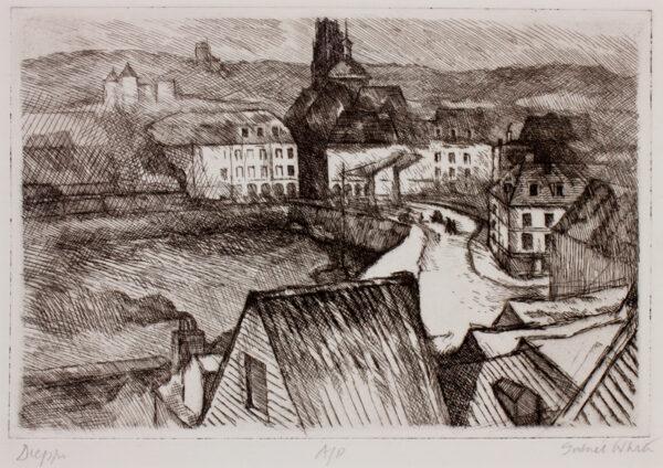 WHITE Gabriel (1902-1988) - 'Dieppe'.
