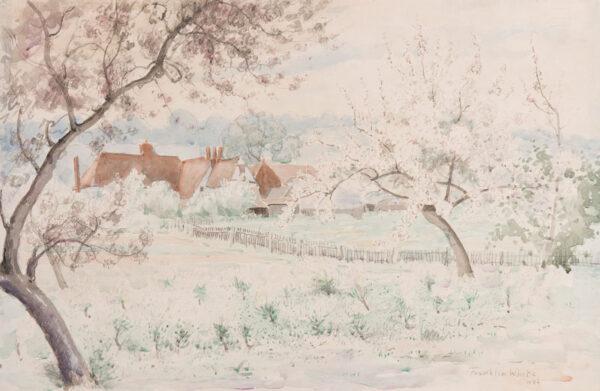 WHITE Franklin (1892-1975) - Spring at Shoreham.