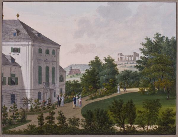 WIGAND Balthasar (1771-1846) - Austria: 'The Visit'.