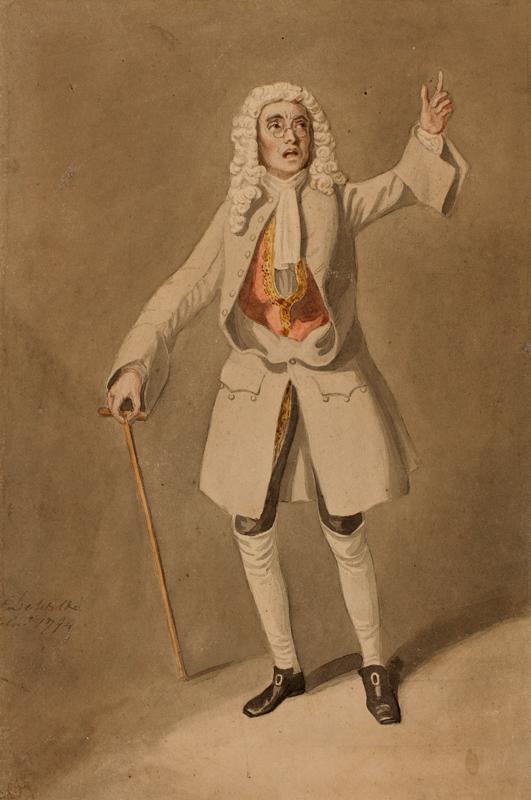 DE WILDE Samuel (1751-1832) - 'Mr Parsons / as Foresight / in 'Love for Love'.