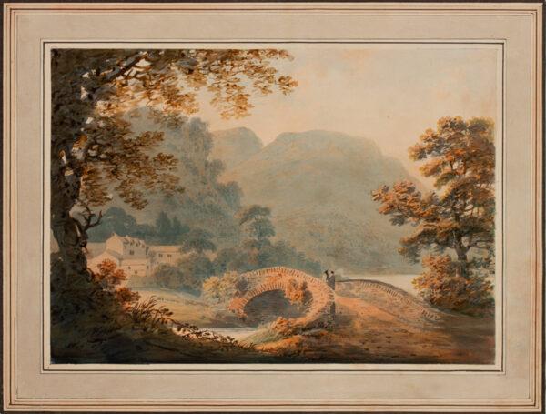 WILLIAMS Hugh William 'Grecian' (1773-1829) - Landscape.