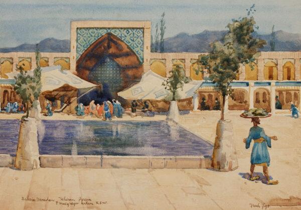 WILSON Peter MacGregor R.S.W (1890-1928) - Iran.