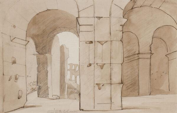 WOODFORDE Samuel R.A. (1763-1817) - Rome.