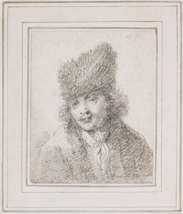 WORLIDGE Thomas (1700-1766) - The fur cap.