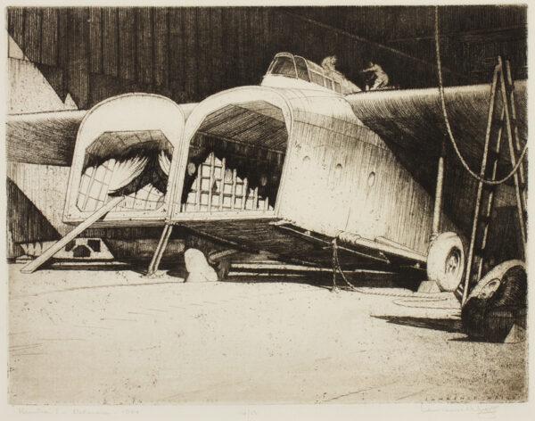 WRIGHT Lawrence (1906-c.1985) - 'Hamilcar I, Netheravon, 1944'.
