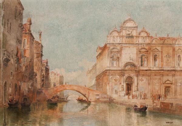 WRIGHT Richard Henry (1857-1930) - Venice.
