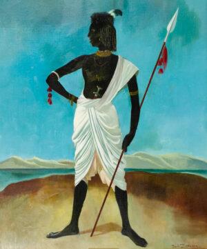ZINKEISEN Doris (1898-1991) - 'Nubian'.